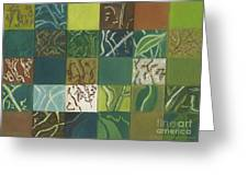 Euca Abstract I Greeting Card