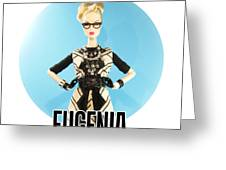 Eugenia Greeting Card