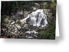 Ingliss Falls - Ontario Greeting Card