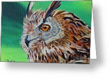 Eurasian Eagle-owl Greeting Card