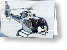 Eurocopter Ec130 With Fantastic Livery Greeting Card