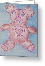 Ev Teddy Greeting Card