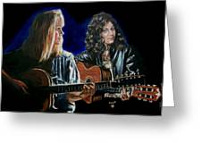 Eva Cassidy And Katie Melua Greeting Card