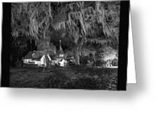 Evangelical Church St Simons Island Georgia Greeting Card