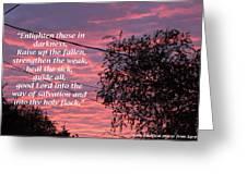 Evangelism Prayer Greeting Card