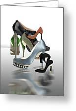 Eva's Shoes Greeting Card