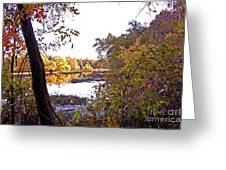 Eve On The Lake Greeting Card