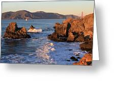 Evening At Land's End Greeting Card