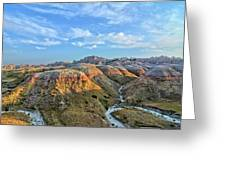Evening At Yellow Mounds 2 Greeting Card