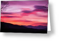 Evening Drama II Greeting Card