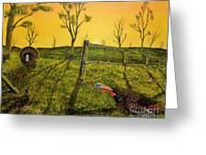 Evening Dual Greeting Card