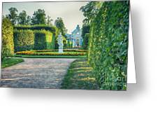 Evening In Classic Park Greeting Card by Ariadna De Raadt