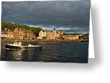 Evening In Oban Greeting Card