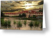Evening In Prague. Greeting Card