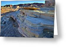 Evening In Valley Of Fire State Park Greeting Card
