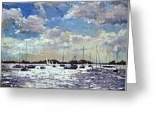 Evening Light - Gulf Of Morbihan Greeting Card