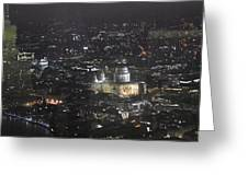 Evening London Greeting Card