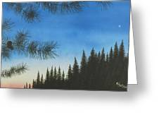 Evening Greeting Card
