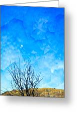 Evening Moon Greeting Card