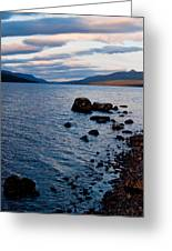 Evening On Loch Rannoch Greeting Card