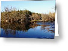 Evening On The Speed River Greeting Card