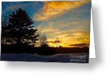 Evening Rising 2 Greeting Card