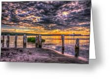 Evening Skies Greeting Card