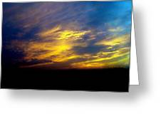 Evening Sky 5 Greeting Card