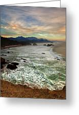 Evening Slumber Greeting Card by Reflective Moment Photography And Digital Art Images