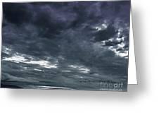 Evening Storm Greeting Card