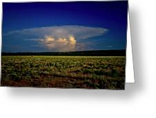 Evening Thunderstorm Greeting Card