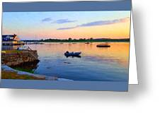 Evening Tranquility Greeting Card