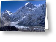 Everest Base Camp Greeting Card