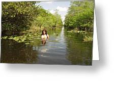 Everglades Beauty One Greeting Card