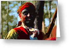 Everglades Seminole Portrait Number Three Greeting Card