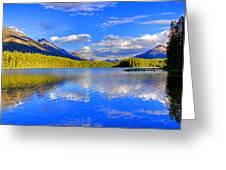 Evergreen Lake Greeting Card
