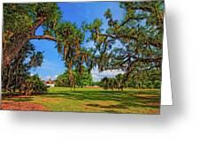 Evergreen Plantation Greeting Card