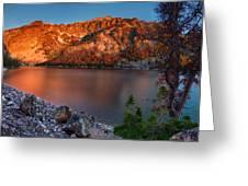 Everson Lake Greeting Card