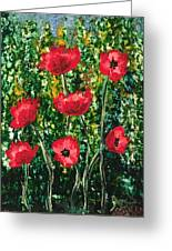 Every Dream Turns Up Poppies Greeting Card