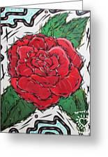 Every Rose Has Its Thorns Greeting Card