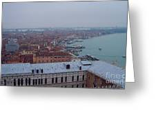 Everything Travels By Boat To Venice Greeting Card
