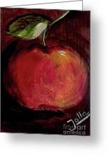 Eve's Apple.. Greeting Card