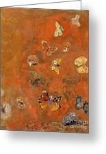 Evocation Of Butterflies Greeting Card