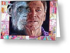 Evolution Of The Self Portrait Greeting Card