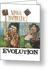 Evolution Poster Greeting Card