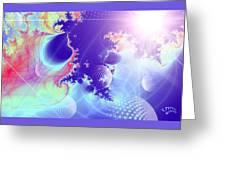 Evolving Universe Greeting Card
