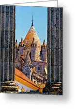 Evora's Cathedral Tower Greeting Card
