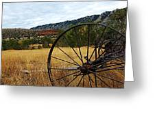 Ewing-snell Ranch 3 Greeting Card by Larry Ricker