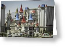 Excalibur View Greeting Card