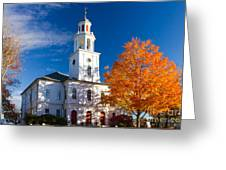 Exeter Congregational Church Greeting Card